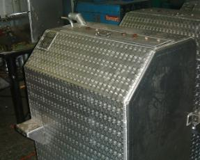 Aluminium fuel tanks